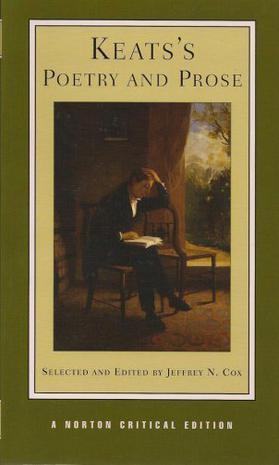 Keats's Poetry and Prose – John Keats – pdf mobi epub 电子书